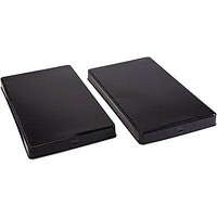 Black Rectangular Gas Stove Burner Covers Extra Deep, Fits Most Ranges Set of 2