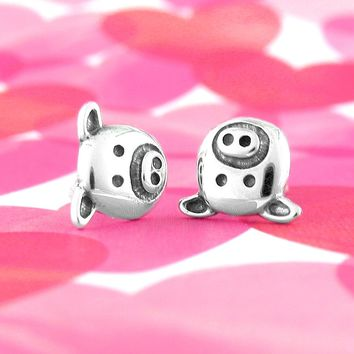 Earnest Little Pig Face Earrings
