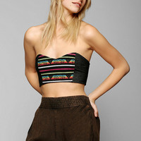 Lucca Couture Blanket-Print Bandeau Bra - Urban Outfitters