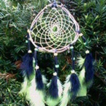 Dream Catcher Glow in the dark green