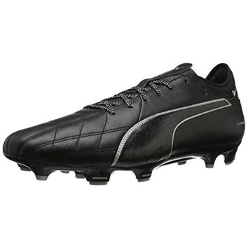 Puma Mens Evotouch Leather Soccer Cleats