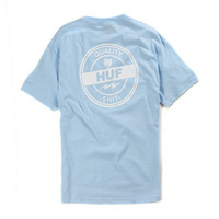 HUF - QUALITY SHIT TEE POWDER BLUE