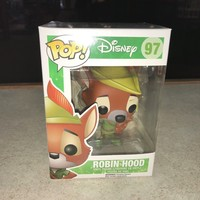 Vaulted Funko POP! Vinyl Figure MIB Disney ROBIN HOOD 97