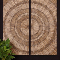 Uttermost Lanciano, S/2 wall panels