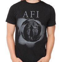 AFI Eclipse Silhouette Slim-Fit T-Shirt | Hot Topic