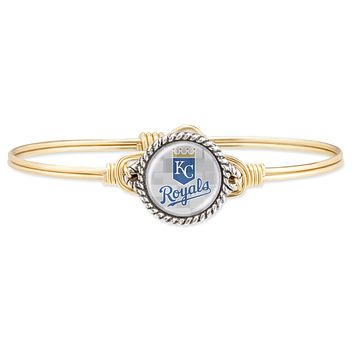 Kansas City Royals Bangle Bracelet