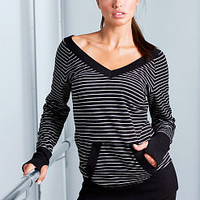 Double V-neck Sweatshirt - VS Sport - Victoria's Secret