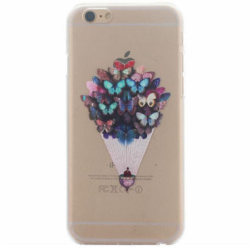 Creative Butterfly Case Ultrathin Cover for iPhone 5se 5s 6s Plus Gift 41