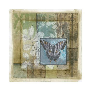 Stained Glass Butterfly III