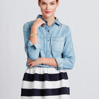 Collegiate Peaks Striped Skirt