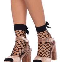 Fence net bow top anklets