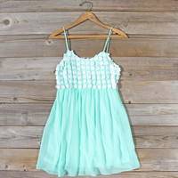 Sky Sweet Dress in Mint