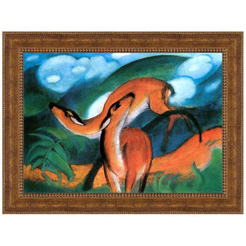 Park Avenue Collection 48X36 Red Deers Ii1912