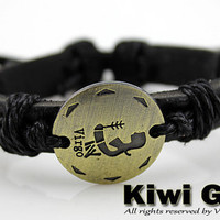 Virgo bracelets,12 constellations bracelets,genuine leather bracelets fashion bracelets