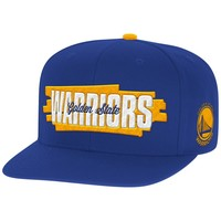 Winning Streak Snapback Golden State Warriors Mitchell & Ness Nostalgia Co.