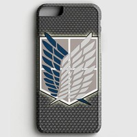 Attack Of Titans Scouting Legion Logo iPhone 7 Case | casescraft