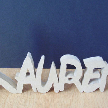 DISNEY STYLE wooden free standing name PLAQUES/ signs/ word art