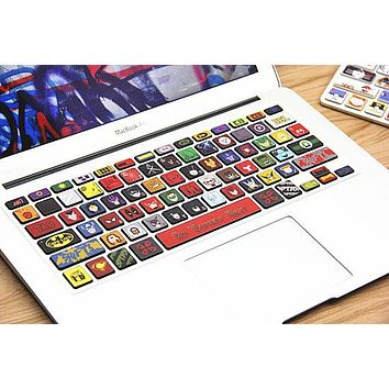 Macbook Keyboard decal Skin vinyl Decal Macbook keyboard Sticker for Apple Macbook Air Pro