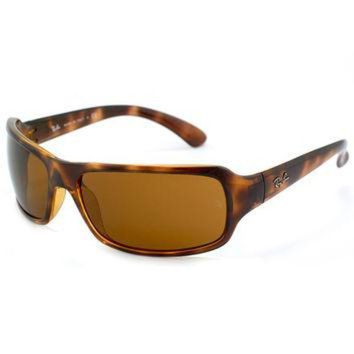 Ray-Ban RB 4075 642 61 Unisex Tortoise Brown Plastic Frame Crystal Brown Lens Sunglass