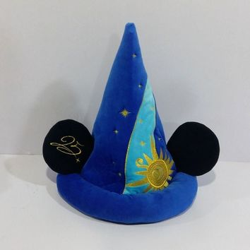 Fantasia Mickey Mouse Cute Stuff Plush Toy Cosplay Hat Children Birthday Gift