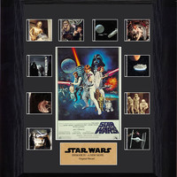 Star Wars A New Hope Mini Montage Series 1 Framed Film Cell