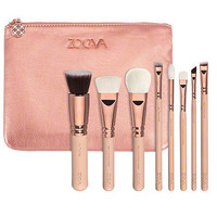 ZOEVA  8pcs ROSE GOLDEN LUXURY SET VOL. 2 MAKEUP BRUSH SET