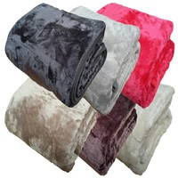 Super Soft Sofa Blanket Faux Fur Bed blanket Kintted Throw Blankets Fleece Blanket 150*200cm mix colors