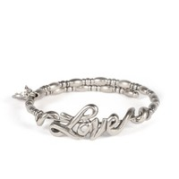 Alex and Ani Love Wrap - Russian Silver