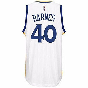 Harrison Barnes Golden State Warriors Nba Adidas Men's White Swingman Climacool Jersey