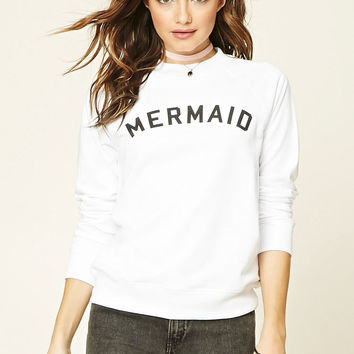Mermaid Graphic Sweatshirt
