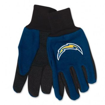 San Diego Chargers - Adult Two-Tone Sport Utility Gloves