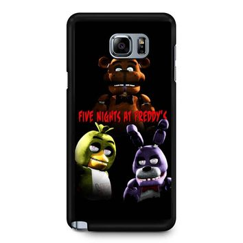 Five Nights At Freddy S 6 Samsung Galaxy Note 5 Case