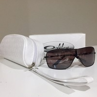 New Oakley Polarized Sunglasses Miss Conduct Brown Sugar