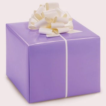 LAVENDER LIGHT PURPLE Gift Wrap Wrapping Paper 16 Foot Roll