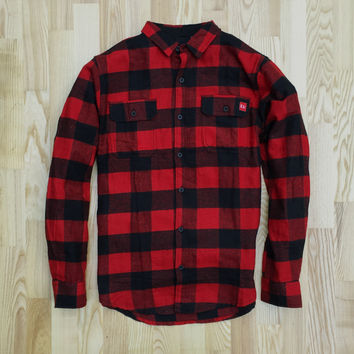 Madrona Flannel Red