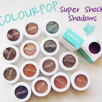 Matte Colourpop Eyeshadow Powder