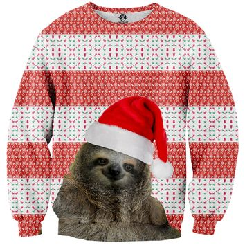 Santa Sloth Sweater