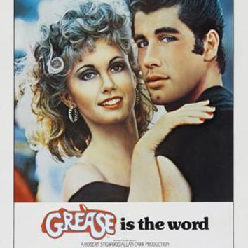 Grease Movie Poster Standup 4inx6in