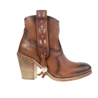 Knollwood Burnished Leather Bootie | Chinese Laundry