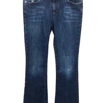 Joes Jeans Provocateur Blanche Stretch Distressed Womens 28 / 6 Actual 28 x 29.5 - Preowned