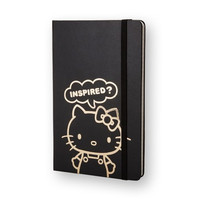 [14 Hello Kitty - Ruled Notebook / Black L - Other Note