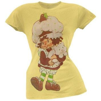 ESBGQ9 Strawberry Shortcake - With Custard Juniors T-Shirt