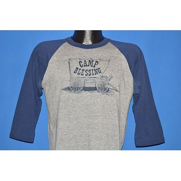 80s Camp Blessing Covered Wagon Jersey t-shirt Large