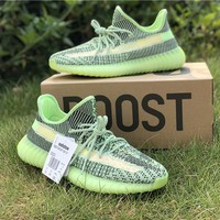 Adidas Yeezy Boost 350 V2 'Yeezreel' Reflective Running Shoes - Best Online Sale