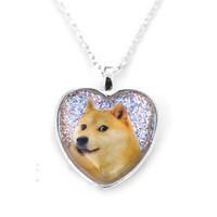 Doge Shiba Inu Necklace by SPACETRASH