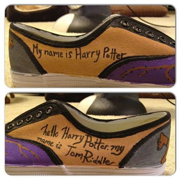Hand Painted Harry Potter Shoes