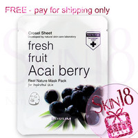 Freebies - Mirum Fresh Fruit Acai Berry Real Natural Mask Pack