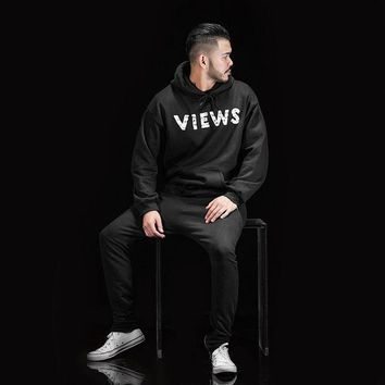 ESBONBX VIEWS FROM THE 6 HOODIE AS WORN BY DRAKE
