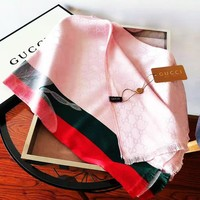 GUCCI 2019 new women's soft versatile shawl scarf