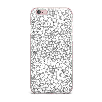 "Julia Grifol ""White Flowers"" iPhone Case"